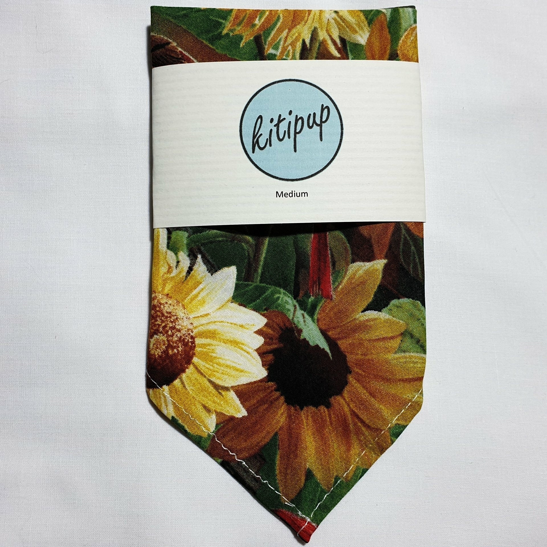 Sunflower Bandana – Medium